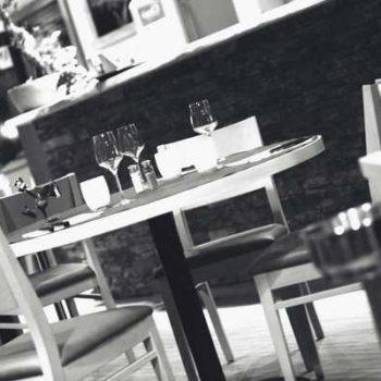 photo sables dressée restaurant