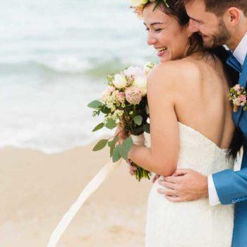 photo marié bord de plage