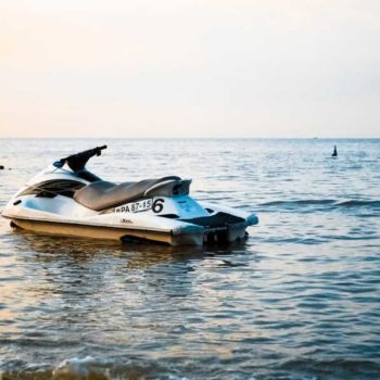 photo jet ski sur mer