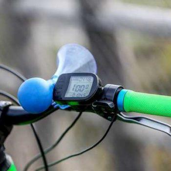 photo guidon de vélo