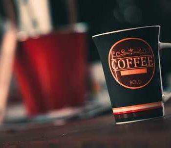photo tasse de café