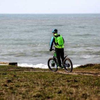 photo vélo bord de mer