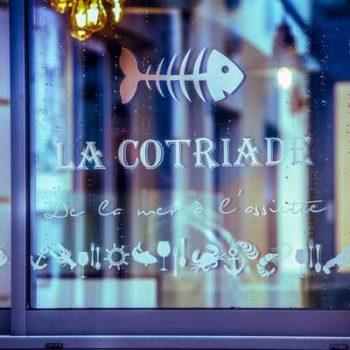 Photo de la façade du restaurant la cotriade