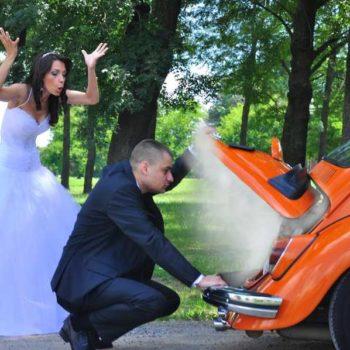 photo mariés qui tombe en panne